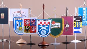 Stolní vlaječky a stojánky