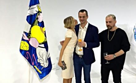Prodáno! Vlajka z naší dílny byla vydražena v rámci aukce pro Nadaci Terezy Maxové