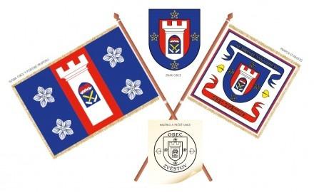 Návrh komunálních symbolů obce Zvěstov
