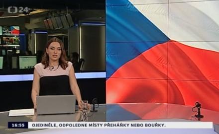 Reportáž o státních symbolech ČT