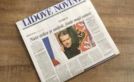 Česká šlechta by naše státní symboly poznala, designéři z nich ale občas dělají paskvil, říká heraldik