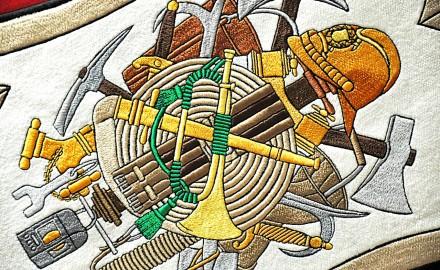 Tradiční výšivka je mistrovským řemeslem, jež překonává staletí
