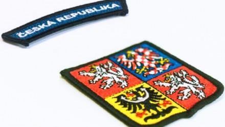Zakázková výroba odznaků a nášivek pro útvary policie a armády ČR