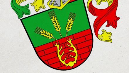Občanský znak, který odráží profesi v odvětví výroby zemědělské techniky