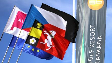 Venkovní tištěné vlajky a beach vlajky