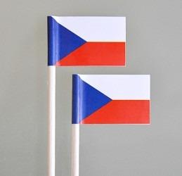 Gastrovlaječky s motivem vlajky ČR