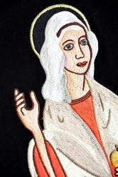 Výšivka sv. Marie Magdalény.