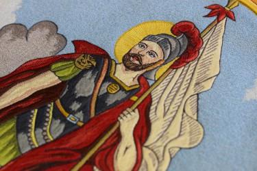 Výšívka sv. Floriana