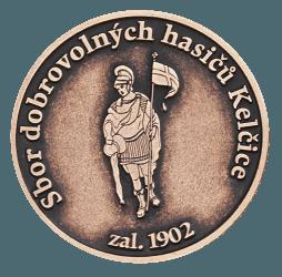 Hasičská pamětní mince.