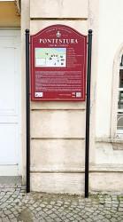 Historická uvítací a informační tabule pro obce, města, městyse