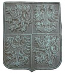 Keramický státní znak (materiál pórovina)