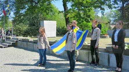 Představení vlajky města  Zlín.