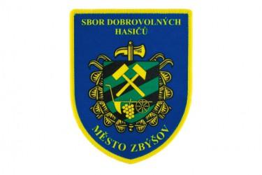 Rukávová nášivka pro SDH města Zbýšov