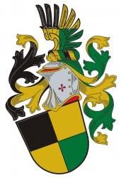 Ukázka heraldického vyhotovení osobního znaku