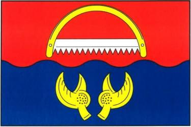 Vlajka obce Rudolec
