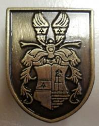 Odlévaný odznak s motivem občanského znaku