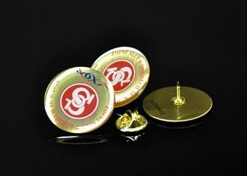 Sokolské odznaky do klopy vyhotovené na zakázku.