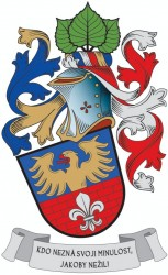 Osobní občanský heraldický znak Ing. Jiřího Moravce