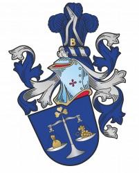 Návrh heraldického osobního občanského znaku pro pana Jindřicha Klusoně
