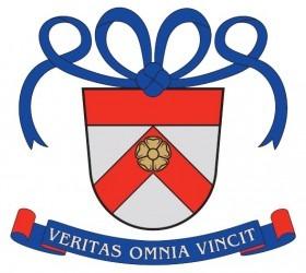 Modrá mašle na štítě je heraldickým atributem svobodné slečny.