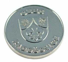 Ukázka vyhotovení pamětní mince.