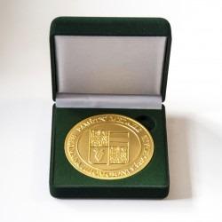 Zakázková výroba pamětních medailí, dodání včetně reprezentativních krabiček.