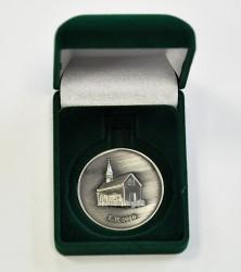 Pamětní mince v úložném boxu