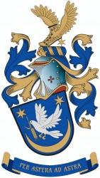 Rodinný občanský heraldický znak pana Marcela Nohela, MBA