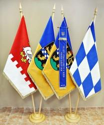 Slavnostní vlajkosláva města Bor.