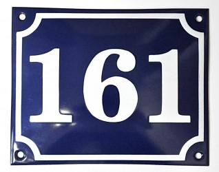 Smaltované domovní číslo