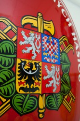 Detail hasičského oválu