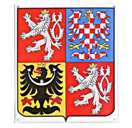 Smaltovaný znak České republiky
