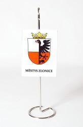 Stolní vlaječky a stojánky pro městysy