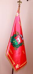 Tištěné saténové vlajky pro obce a města