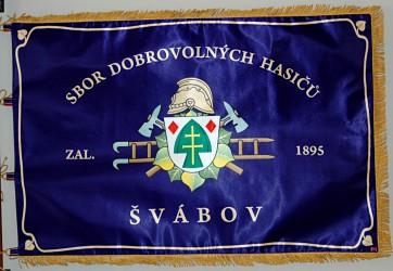 Tištěný prapor SDH Švábov