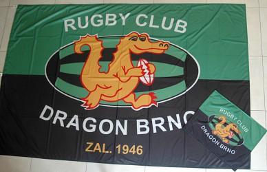 Vlajky vyráběné na zakázku pro kluby a spolky
