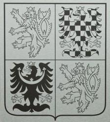 Velký státní znak z hliníkové desky (dibond)