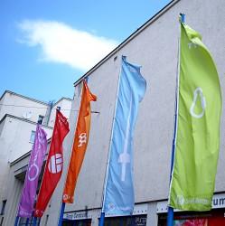 Venkovní vlajky pro Sokol Brno I