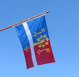 Tištěné venkovní vlajky pro obce, města, městysy