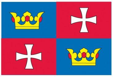 Návrh vlajky obce Chvalšiny