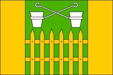 Návrh vlajky pro obec Obůrky