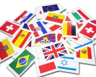 Samolepky vlajek států