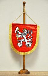 Vyšívané stolní vlaječky pro spolky