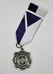 Vyznamenání  - hasiči Ostrov