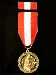 Zakázková výroba vyznamenání pro hasiče.