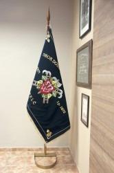 Komplet základní žerdě a stojanu podkova pro slavnostní vlajku