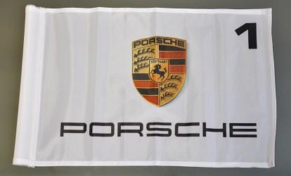 Golfová vlaječka Porsche