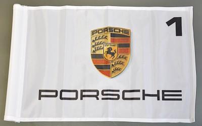 Golfové vlaječky - Porsche