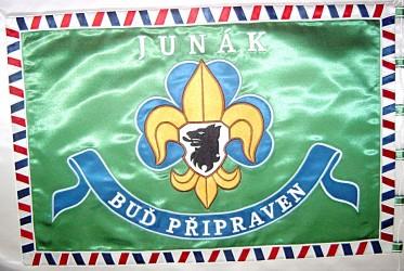 Zakázková výroba vyšívaných vlajek a praporů pro zájmové spolky