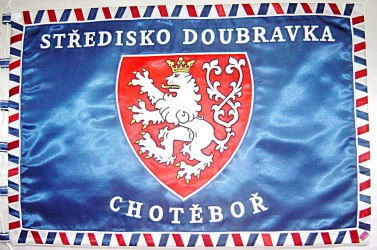 Prapor Junák – český skaut, středisko Doubravka Chotěboř